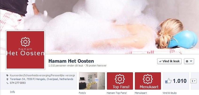 facebook marketing hamam het oosten